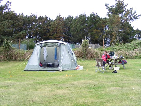 Garrison Campsite & Holiday Cottages: our camp