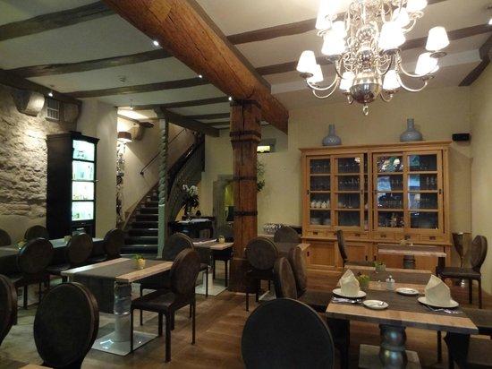 Hotel Herrnschlösschen: dining room