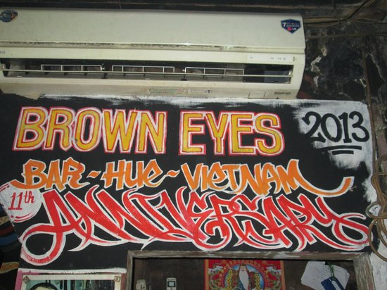 Brown Eyes : Had a great night here
