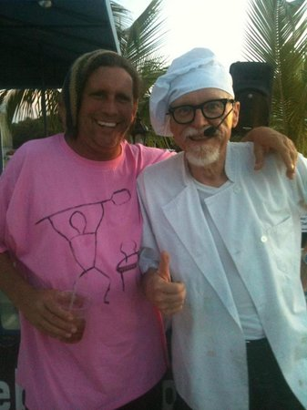 Calypos's Chef Todd's Kitchen: ME w/ the World Famous SAUCE BOSS