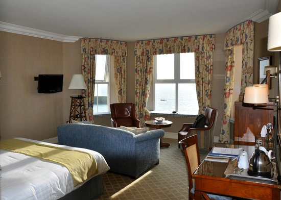 Mullion Cove Hotel: Our room