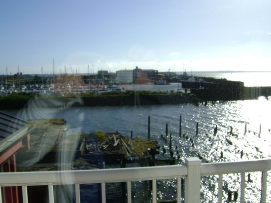 Cannery Pier Hotel: View from our room. So lovely!