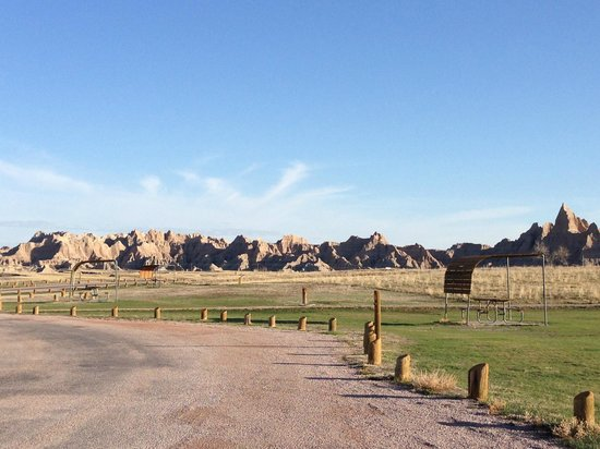 Sage Creek Campground: View