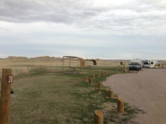 Sage Creek Campground : Campsites