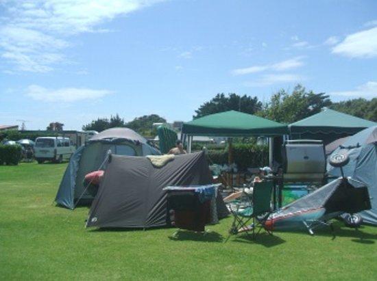 Byron's Resort: Tenting