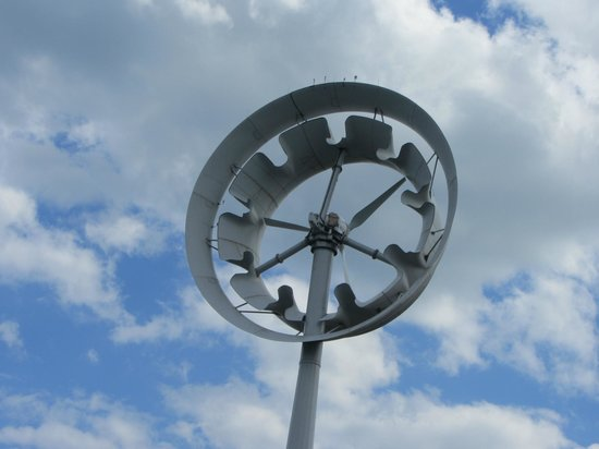 Deer Island HarborWalk: Wind turbine