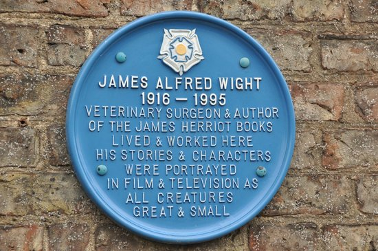 World of James Herriot: Historical Site Marker