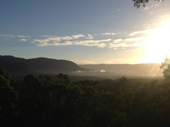 Hillside Kangaroo Valley: View from the balcony overlooking the valley