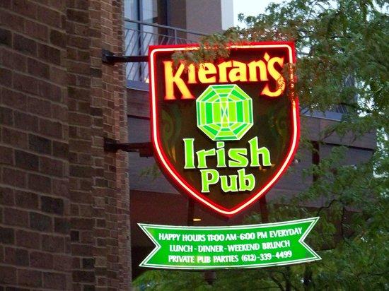 Kieran's Irish Pub: Kieran's Pub Minneapolis MN June 2013
