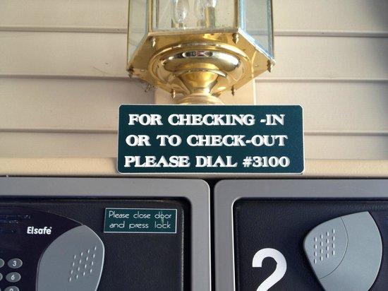 Ridge Pointe Tahoe: Check-in Process