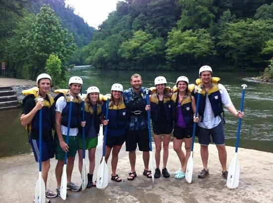 Wildwater Rafting - Ocoee : Raft 2 with Bert