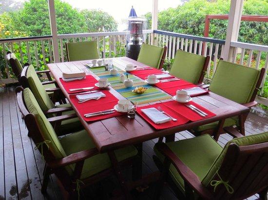 Eden Lodge: Dining area