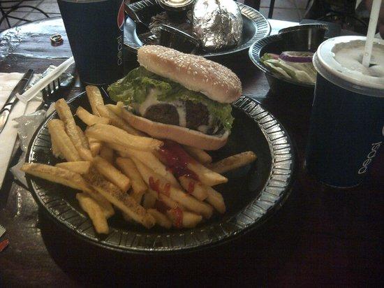 Tierra del Fuego: Que tal esa pequeña hamburguesa??