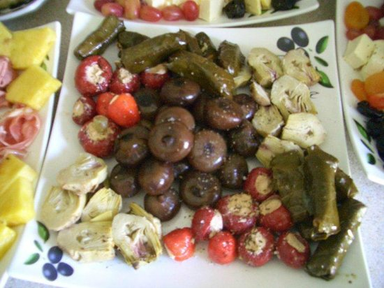 A Taste of Italy : Vegetarian Platter