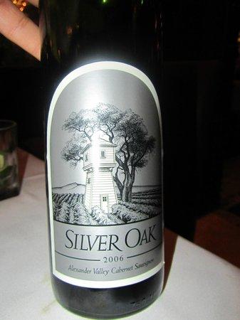 Texas De Brazil : Closer look at the wine
