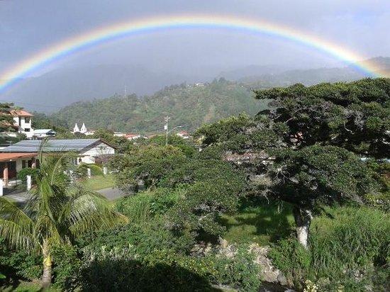 Habla Ya Spanish Courses & Ecotourism: Rainbow over Boquete