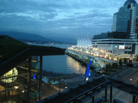 Fairmont Pacific Rim: View from room 710