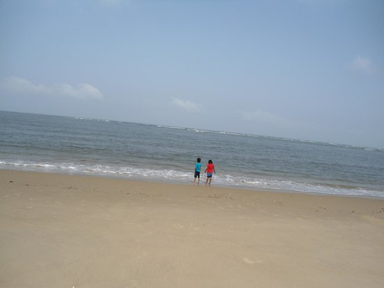 Tarkarli, India: The mild sea..