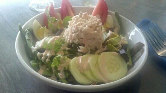 Surf: crab louie salad