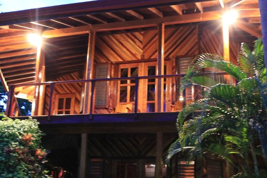 Tambor Tropical Beach Resort: our room on the top floor