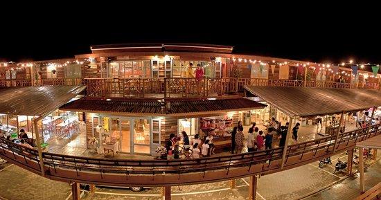 Piman Plearnwan Hotel : วิวจากระเบียงห้อง