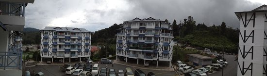 Desa Anthurium Apartment: View from the balcony