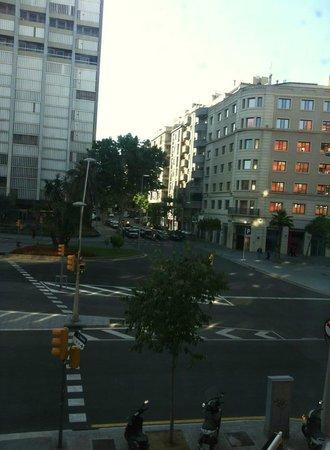 Hotel Exe AB Viladomat: La camera 106 si affaccia sulla strada principale