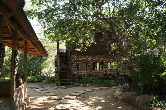 Masodini Private Game Lodge: Back end of kitchen area