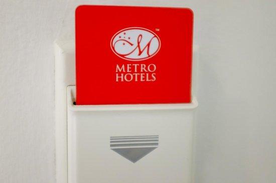 Metro Hotel Marlow Sydney Central: key