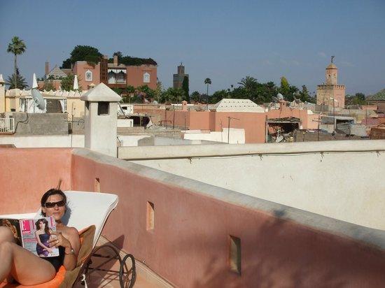 Riad Alnais : Sun Bath / Terrace