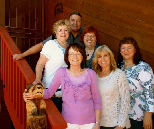 Whispering Pines Inn: Your hosts with a few friends!
