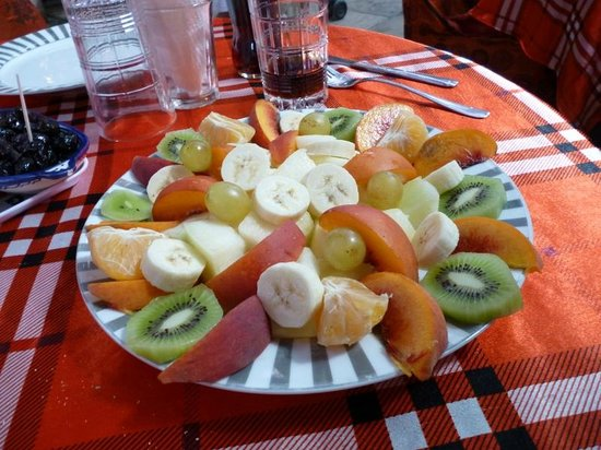 Chez Said: fruit salade