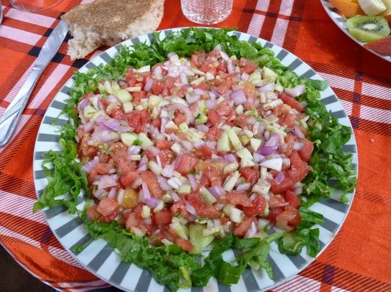 Chez Said : moroccain salade