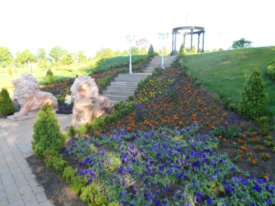 Konigliche Kristall-Therme: Park