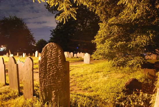 Hocus Pocus Tours: One of many cemeteries.