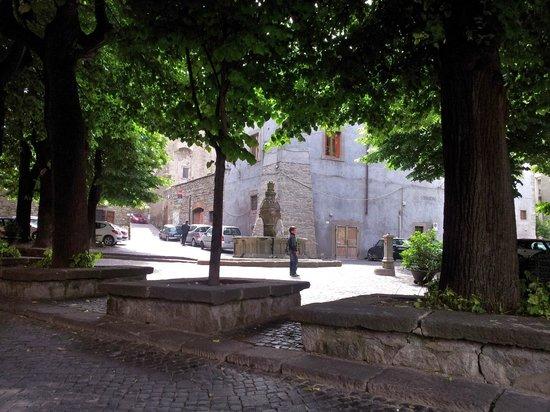 Viterbo, Włochy: Piazza della morte