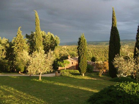 Agriturismo Podere Argena: L'Argena sous l'orage