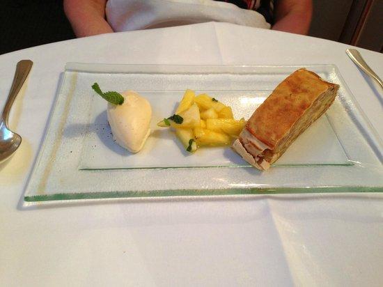 Hotel Adler Häusern: Dessert