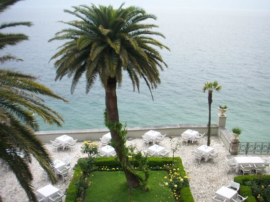 Hotel Villa Giulia: a view from our balcony