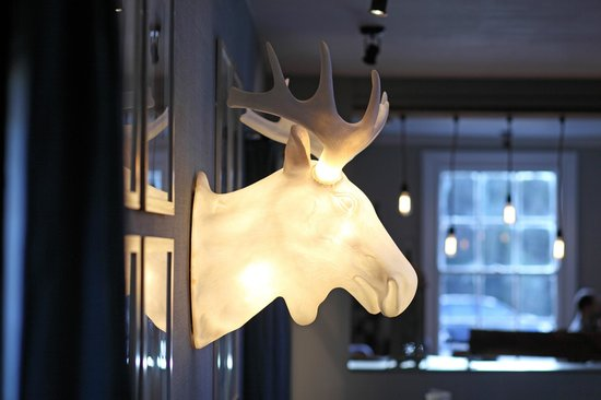 The Earlham Arms Restaurant: The Earlham Moose