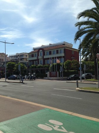 Aeva Hotel: View from the Road