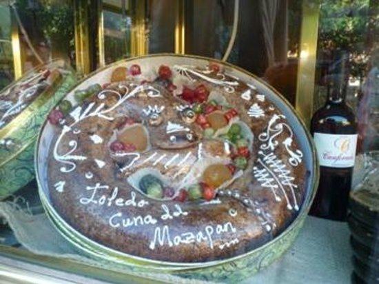 Sercotel Hotel Pintor el Greco : Le massepin , spécialité de Tolède