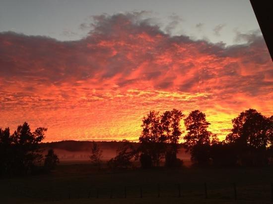 Bellingen River Cabins: sunrise