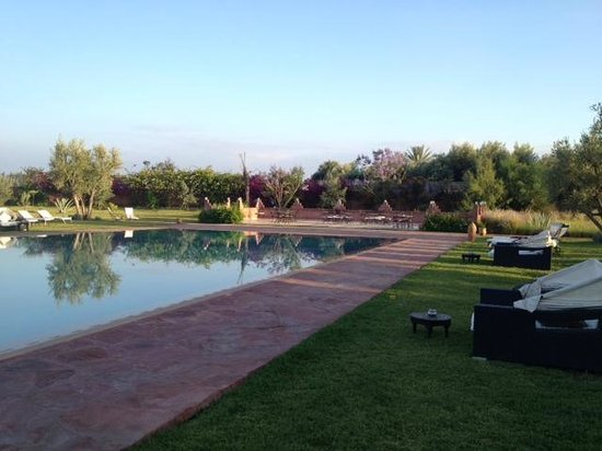 Les Jardins de Zyriab Resort & Spa : Espace piscine