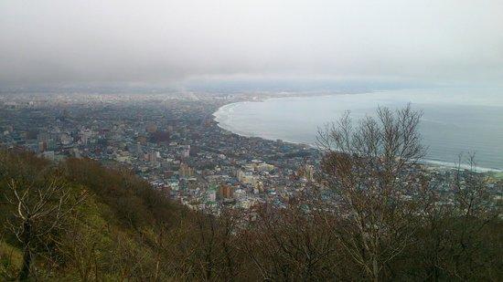 ฮะโกะดะเตะ, ญี่ปุ่น: 函館山から