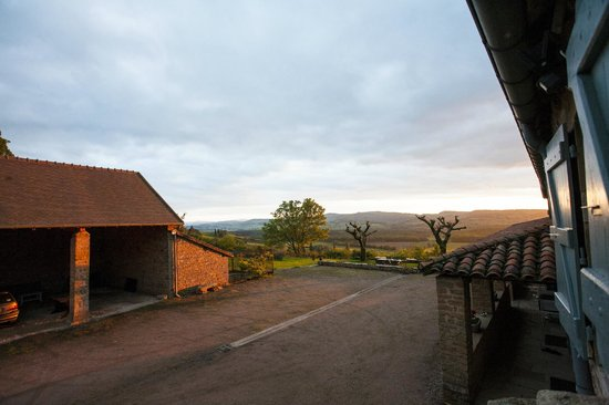 Bed and Breakfast Les Sarilles : Mooie zonsondergangen