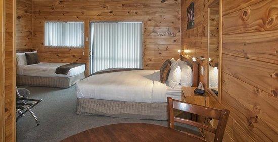 Rotorua Top 10 Holiday Park: Deluxe Studio Bedroom