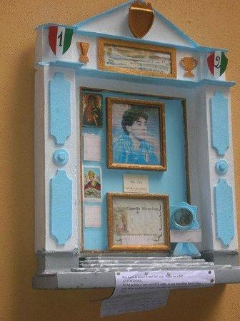 Bar Nilo: Altarino Maradona