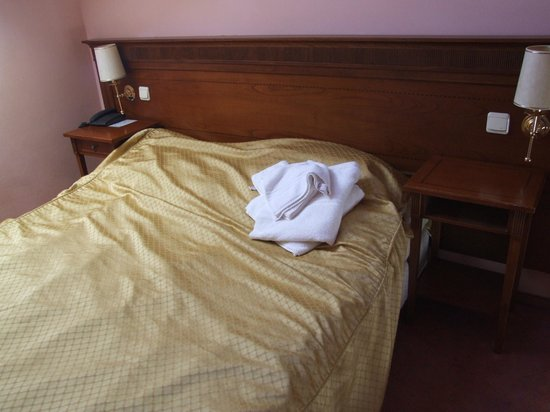 Hotel Louis Leger: bed