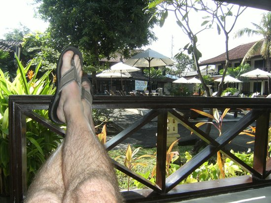 Legian Paradiso Hotel: Relaxing at the end of the day